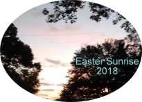 Easter Sunrise 2018
