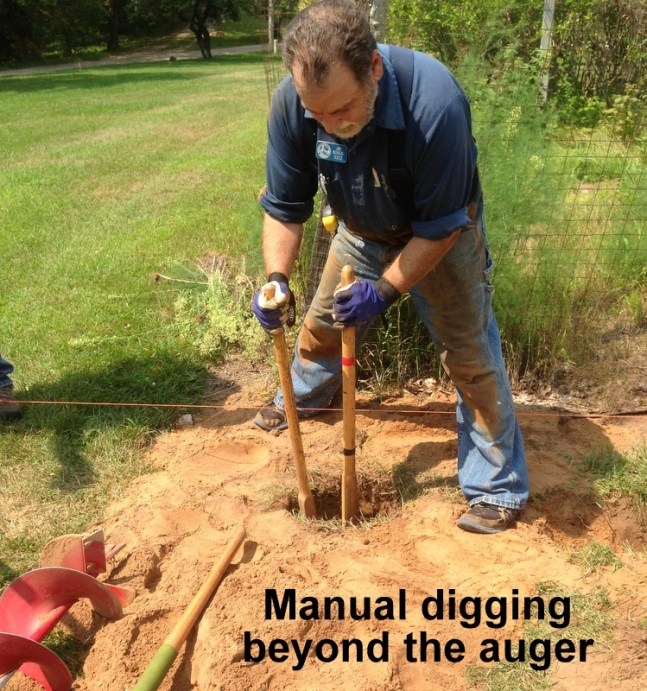 06 Post digging